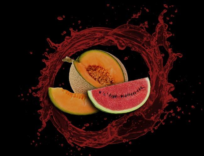 Frozen Watermelon & Muskmelon Juice